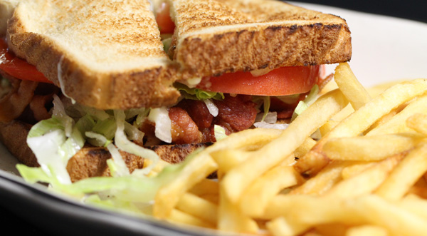 Mexican BLT Fries