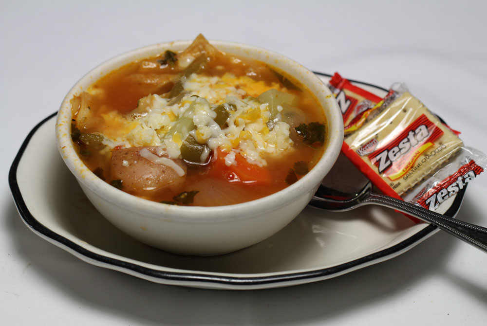 Cup of Tortilla Soup