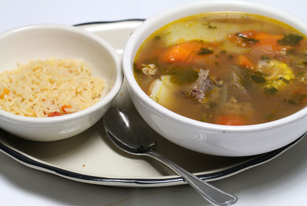 Beef Soup Cocido